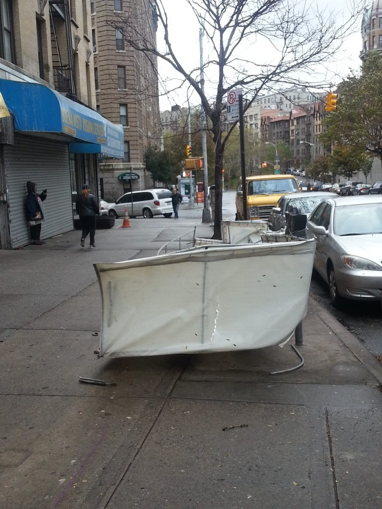 Hurricane Sandy in my part of Washington Heights (3/6)