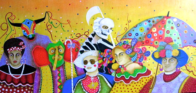 Carnaval-de-Barranquilla.Ngra-Puloi-ToritoMarimondaGarabatoFarotaOleo-120-x-80-cms.-2012-copia-630x300