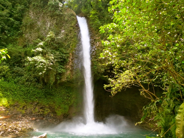 Waterfall at La Fortuna