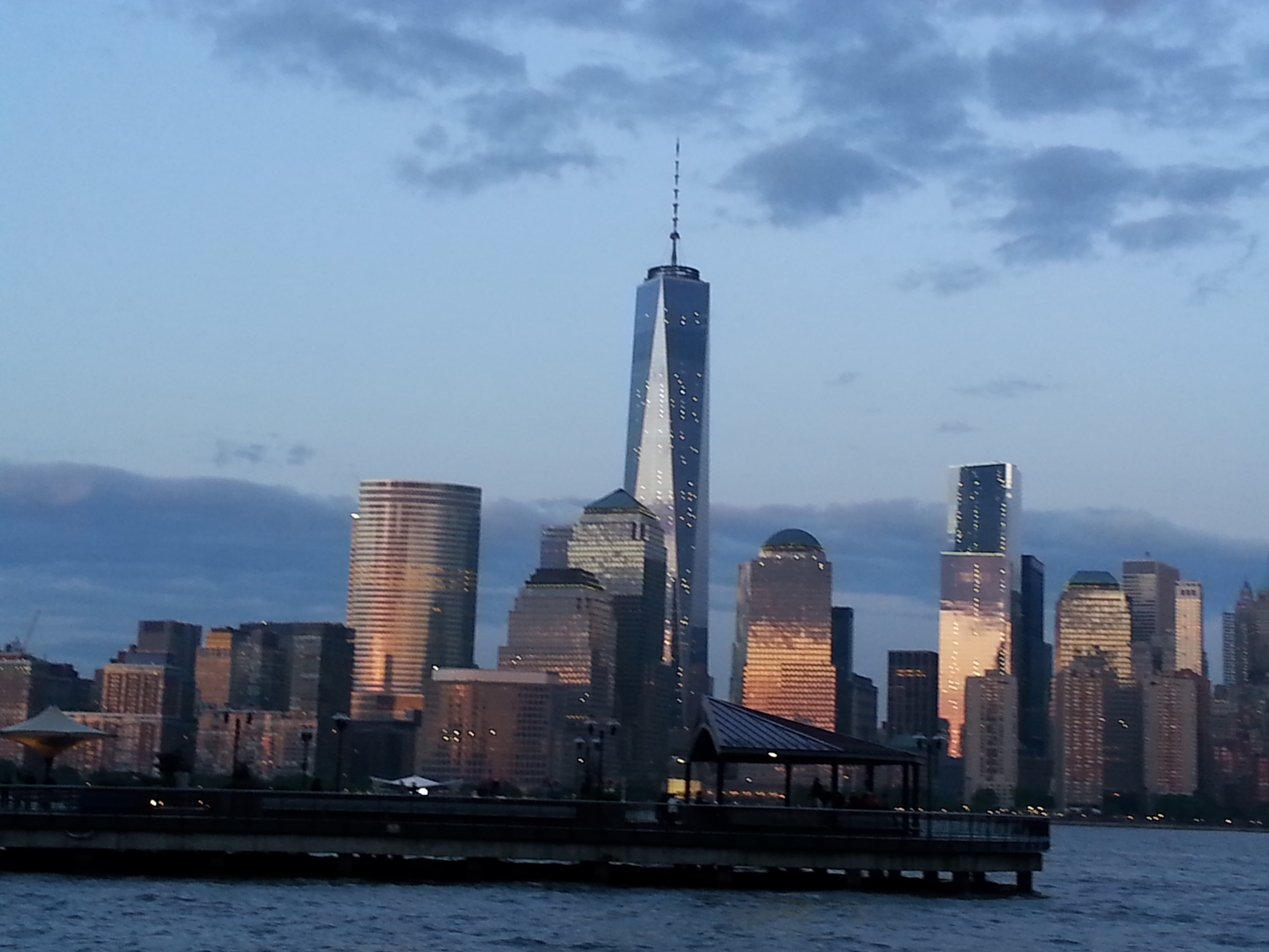 another walk around jersey city scene by gina 20140531 202313 view of 1 world trade center